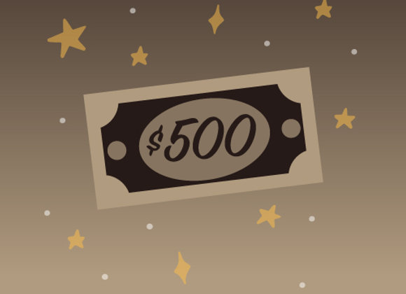Fondear $500