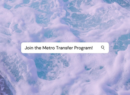 Join the Metro Transfer Program at CCSF!