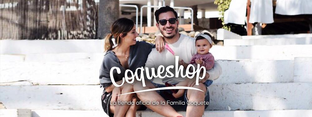 logotipo coqueshop para agenda coquete diseñada por Mr Flamingo Creativos