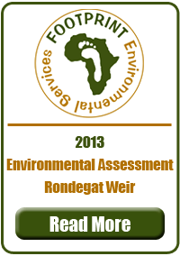 Environmental Impact Assessment, Rondegat Weir