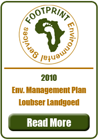 Environmental Management PLan, Loubser Landgoed