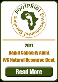 Rapid Capacity Audit, Western Cape Resource Department