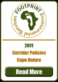 Corridor Policies Cape Nature