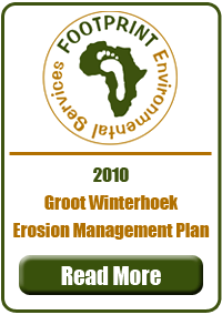 Erosion Management Plan, Groot winterhoek