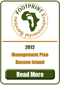 Management Plan, Dassen Island