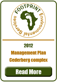 Management Plan, Cederberg Complex