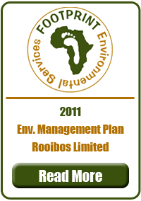 Environmental Management Plan, Rooibos Limited