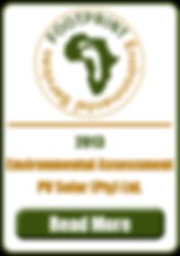 Environmental Impact Assessment, PV Solar