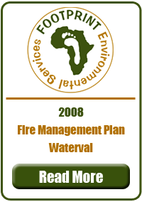 Fire Management Plan, Waterval