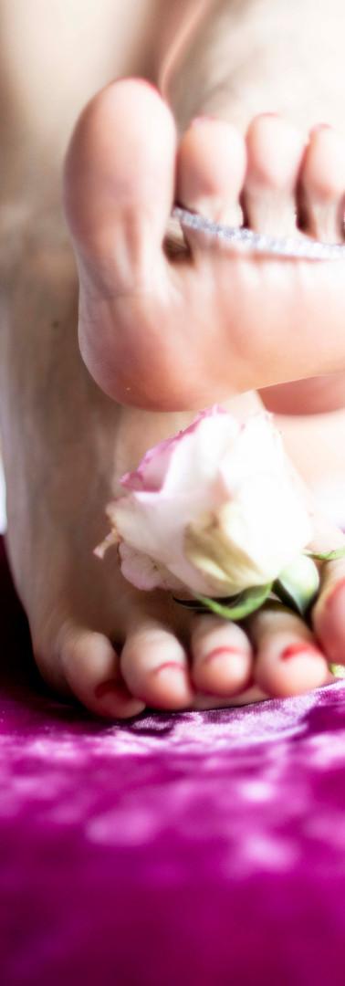 Footfetish naturmort