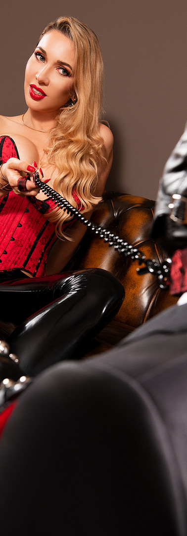 Femdom with slave