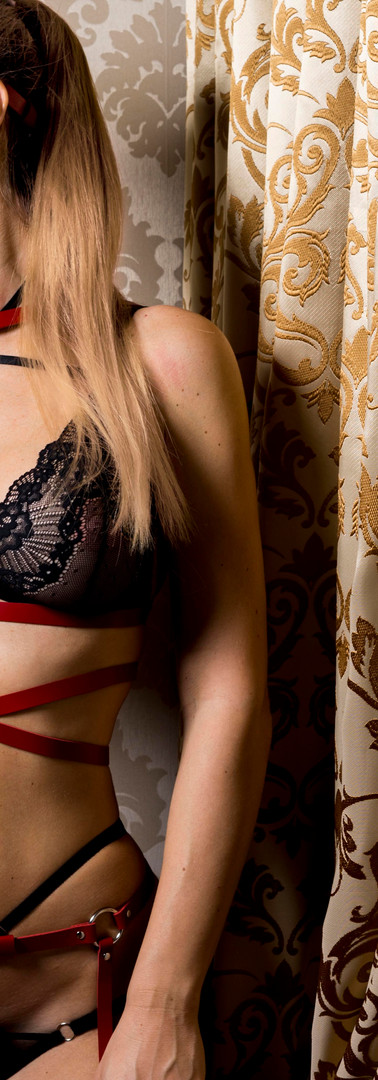Mistress in lingerie