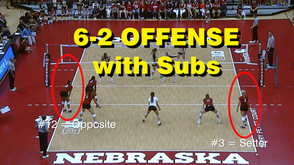 6-2 Offensive System With 2 Substitutions