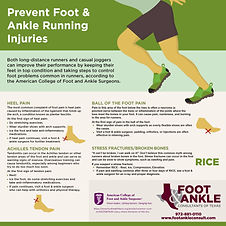 Common Runner Foot & Ankle Injuries