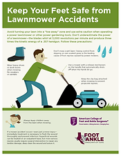 Foot and Ankle Lawnmower Accidents