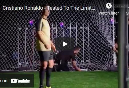 The Incredible Visual Skills of Ronaldo
