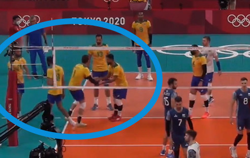 Double Subs in Olympic Volleyball