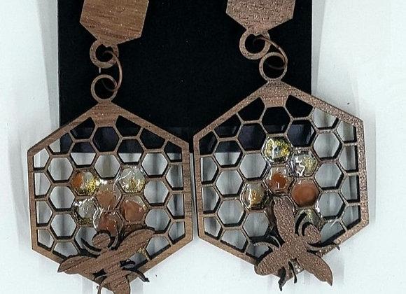 Beehive Earrings