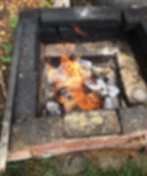 Smoke firing large bowl today. Hope the