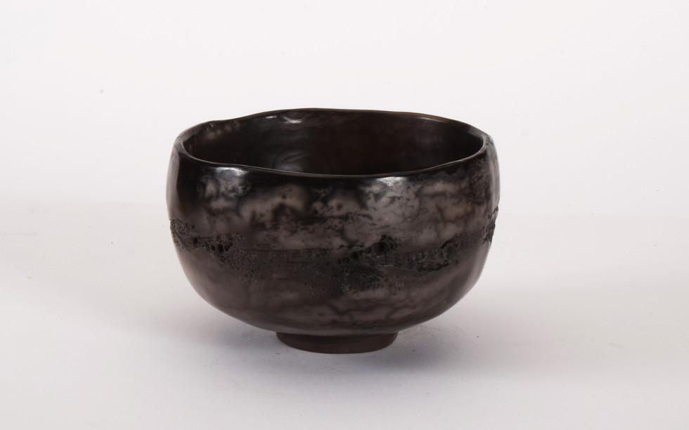 small  tea bowl blk.