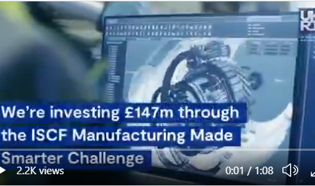 Investing £147 million into UK manufacturing