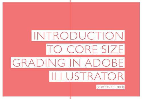 Bra Grading with Illustrator
