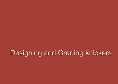 Designing & Grading Knickers