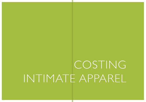 Costing Intimate Apparel