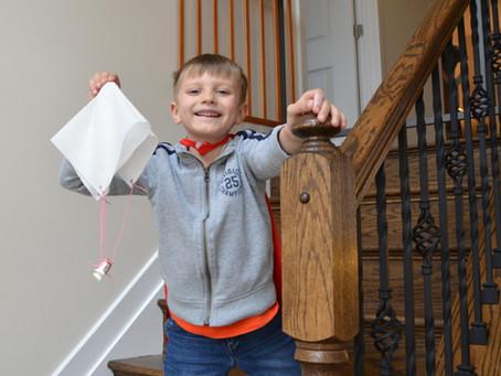 Super Easy Paper Napkin Parachutes