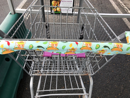 How to Make a Shopping Cart Handle Cover