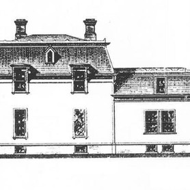 Side Elevation with Shading