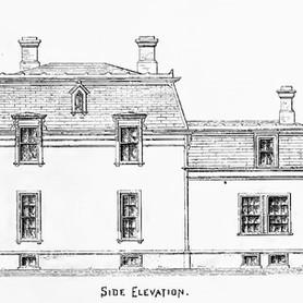 Original Side Elevation Sketch
