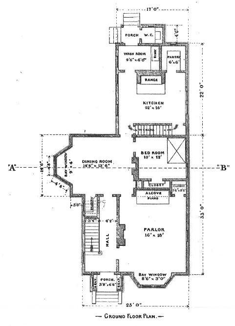 Original Ground Floor Plan