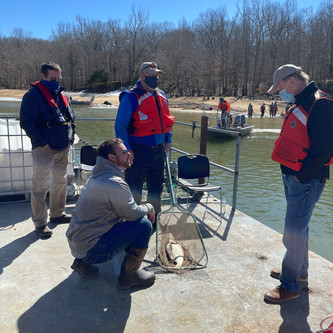 TVA hosts first media event in a series of five to discuss sportfishing surveys