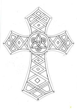 Nordic-style cross