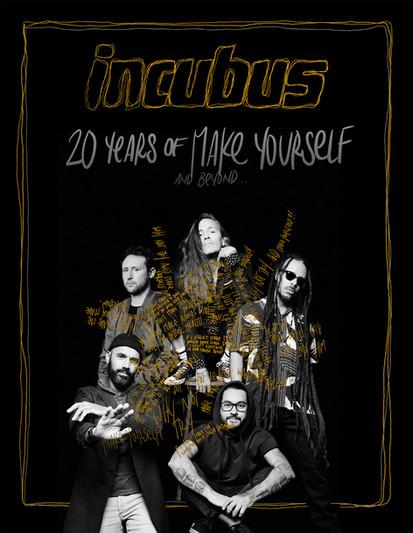 Incubus Tour Admat