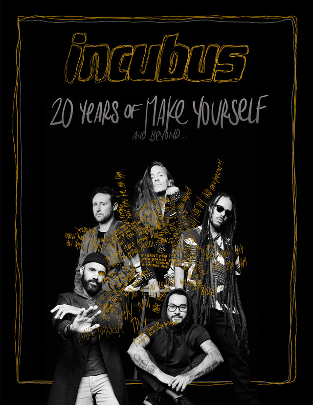Incubus 20 Years of MakeYourslf Tour