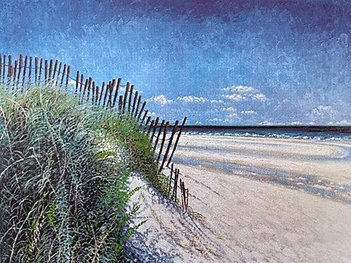 "Greg Auld ""Untitled"" Beachscape"