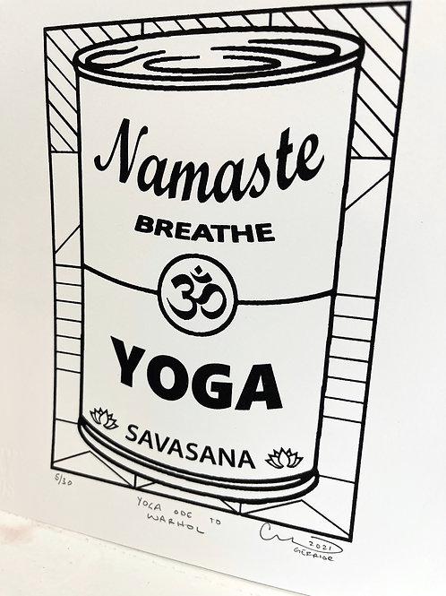 CHRIS GERRIOR 'Yoga; Ode to Warhol'