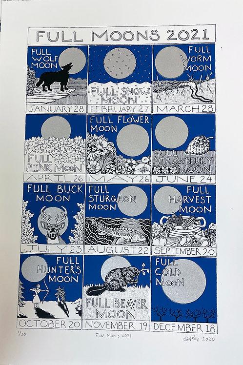 Alexandra Leaver 'Full Moons 2021'