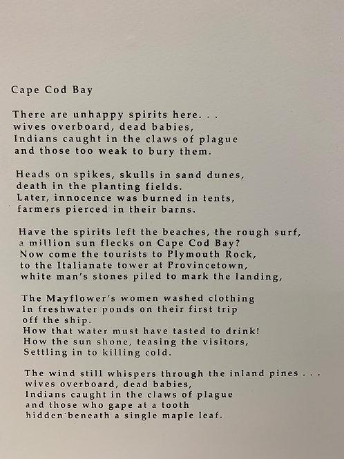 SUSAN HUNTER 'CAPE COD BAY'