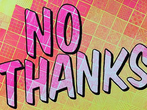 Jess Wilson 'No Thanks'