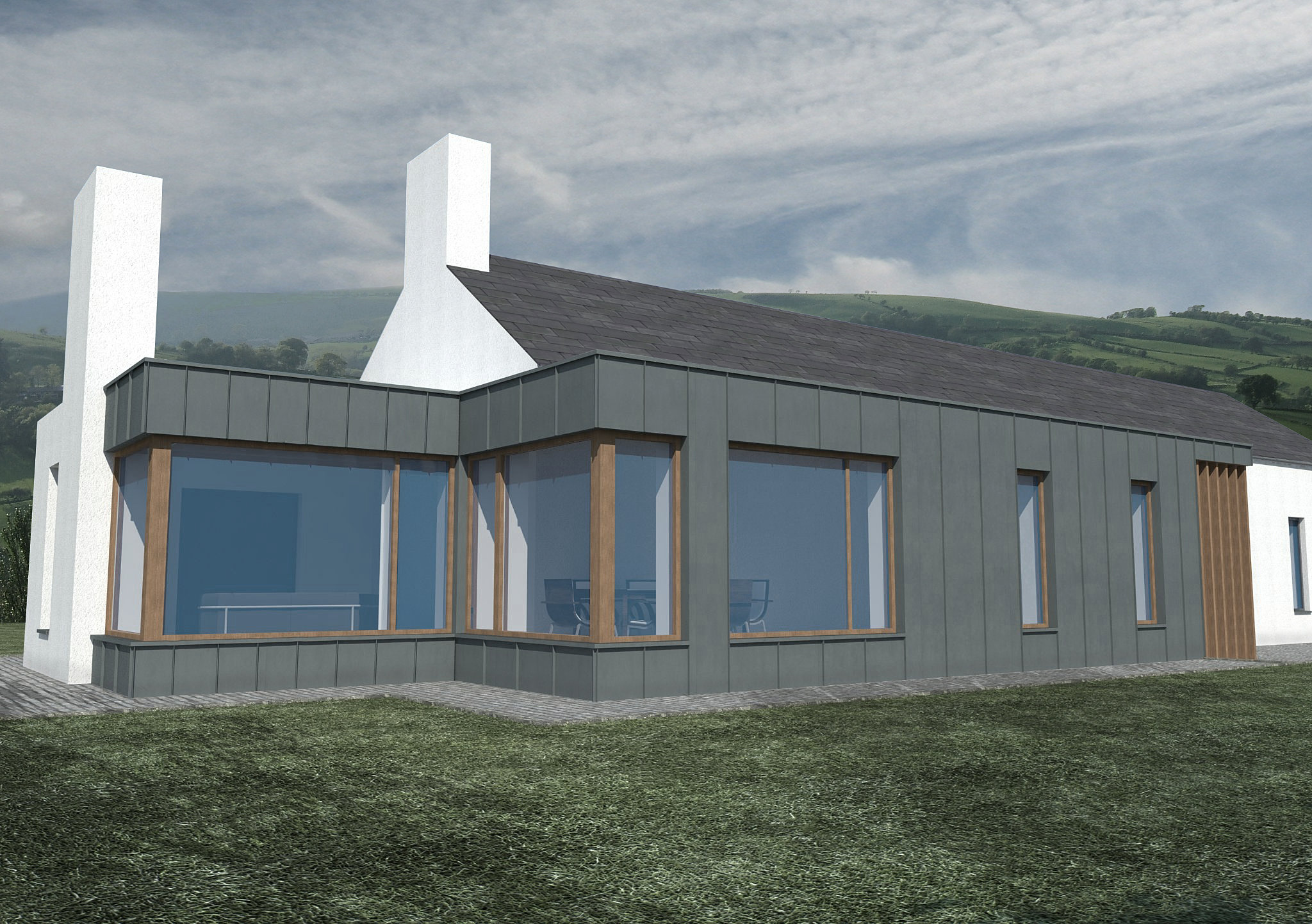 Marshall Mccann Architects Ni Passive House Passive House Moneymore Ni