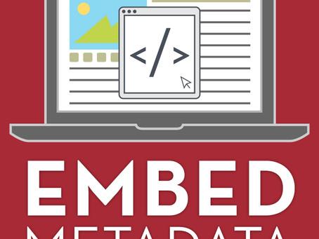 Embed Metadata