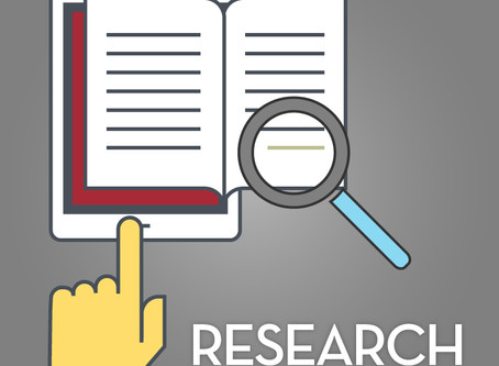 Research, Research, Research!