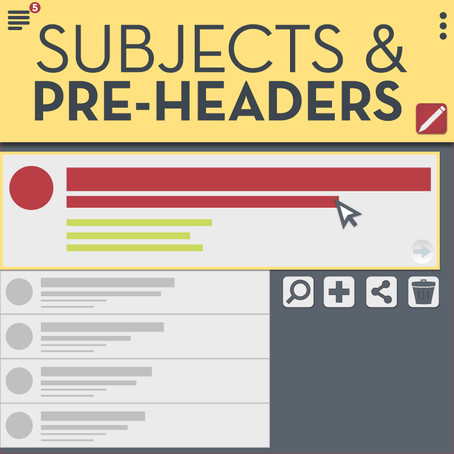 Subjects & Pre-Headers