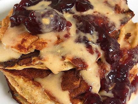 Pancakes sin Harina Altos en Proteína
