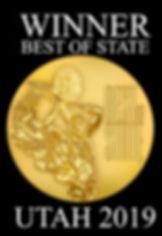 Best of State Winner Graphic - Black wit