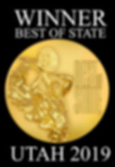 Best of State Winner Graphic - Black wit
