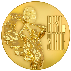Best of State Medal Transparent Backgrou